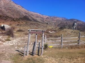 Punto di partenza per itinerari escursionistici sul Monte Ramaceto